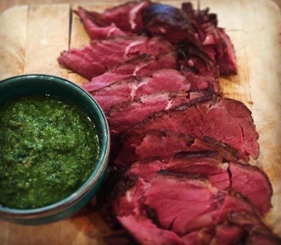beef & salsa verde