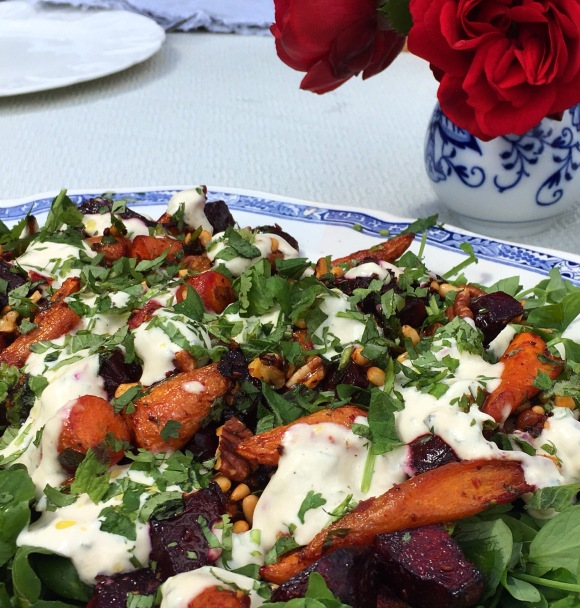 carrot and beetroot salad
